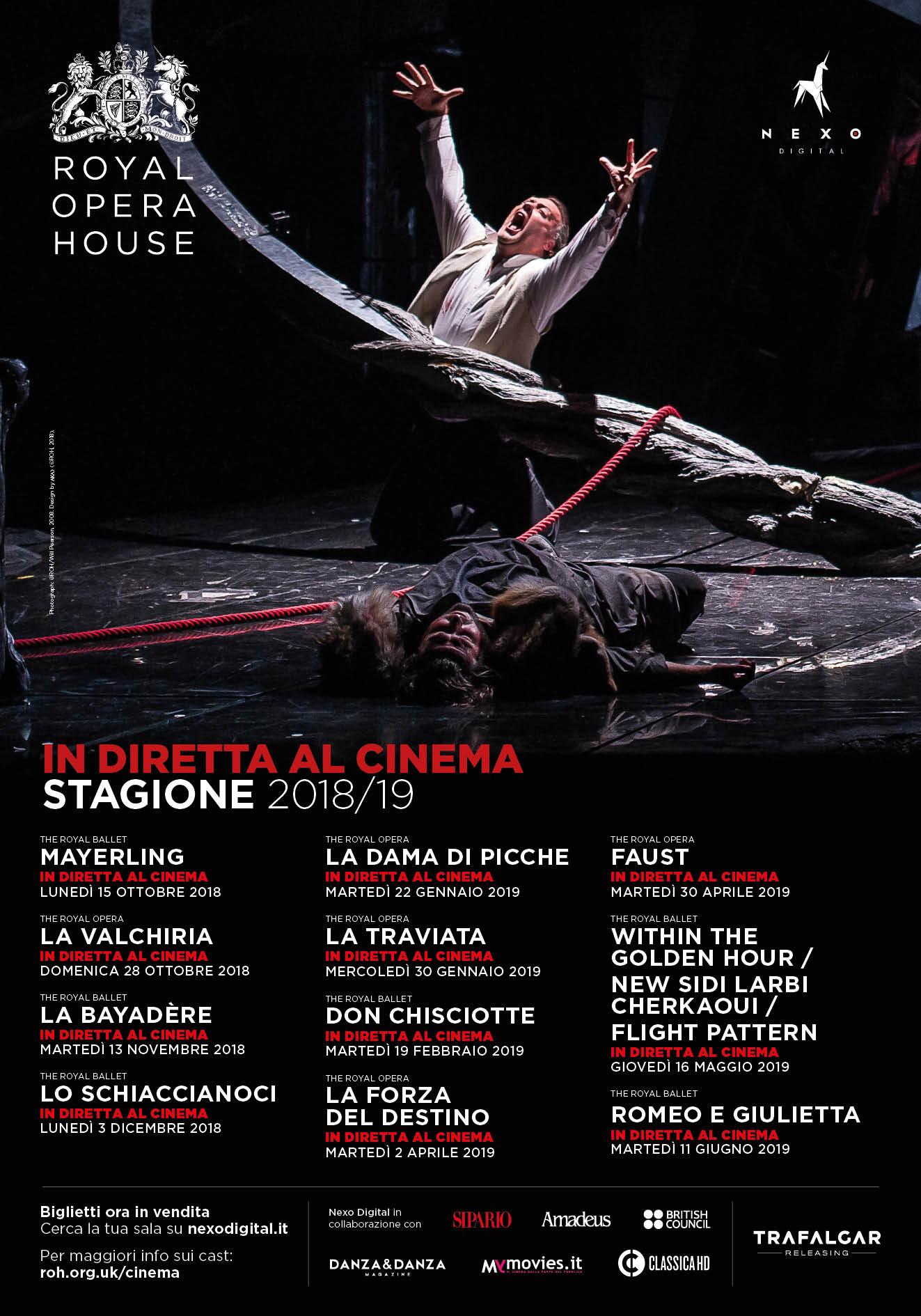 Royal Opera House – Stagione 2018-19 | Cinema Arcobaleno e Ducale ...
