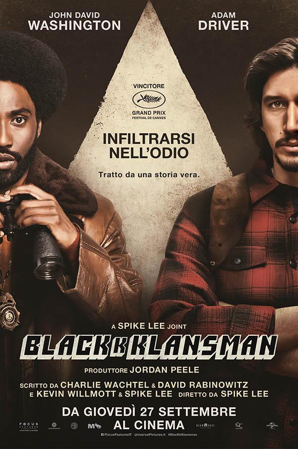 BlacKkKlansman-Poster-Italia