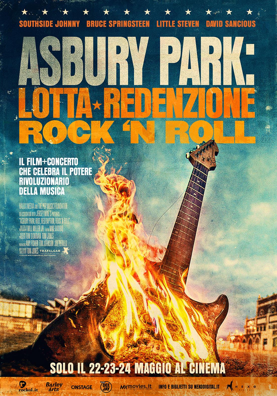 ASBURY PARK: LOTTA REDENZIONE, ROCK 'N ROLL