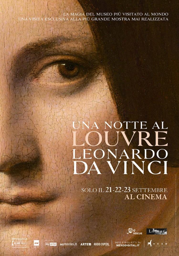 LeonardoLouvre_POSTER_100x140